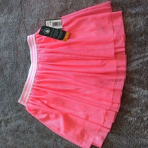 Mesh skirt with built in shorts size 7/8